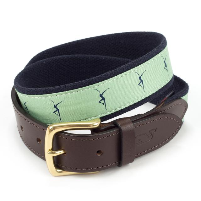 (Limited Edition) DMB - Vineyard Vines Canvas Club Belt - Green