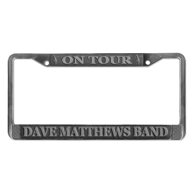 DMB On Tour License Plate Frame