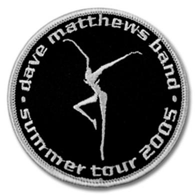 DMB 2005 Summer Tour Patch