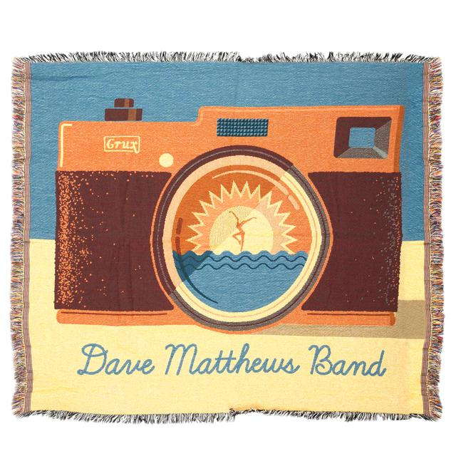 DMB Camera Throw Blanket