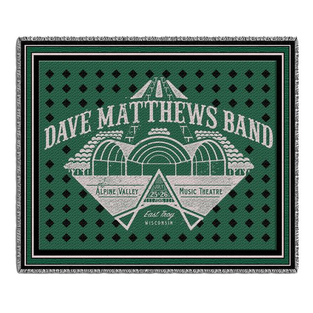 DMB Live Trax Vol. 36 Throw Blanket