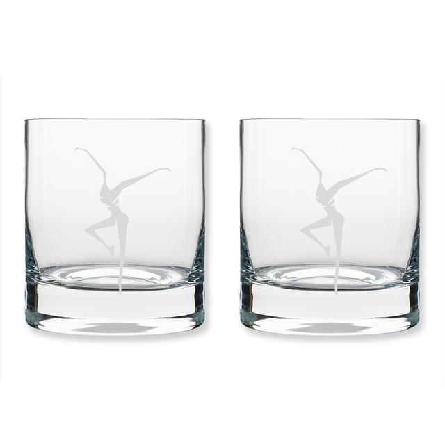 DMB 11oz On The Rocks Firedancer Glass - Set of 2