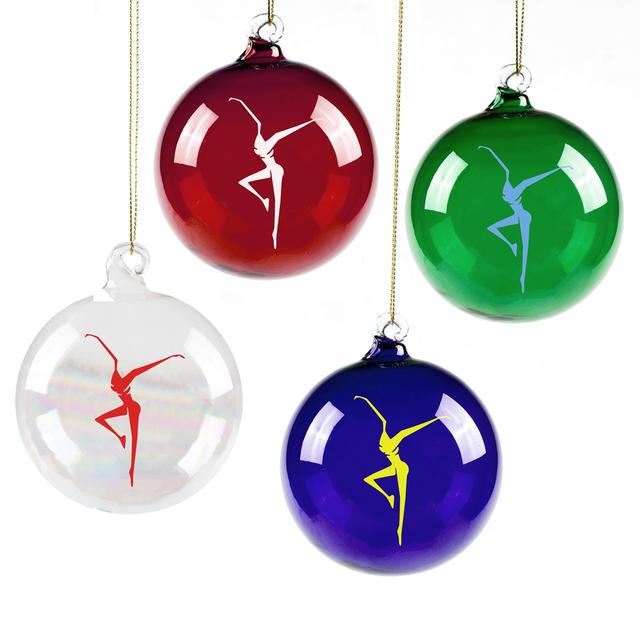 DMB Firedancer Hand Blown Glass Ornament