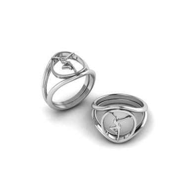 Dave Matthews Sterling Silver Firedancer Ring