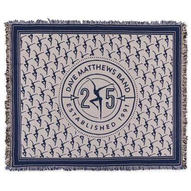 Dave Matthews 25th Anniversary Woven Throw