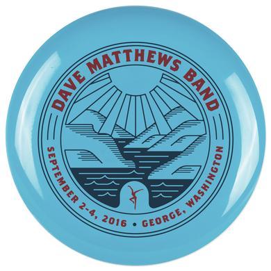 Dave Matthews Gorge 2016 Event Frisbee