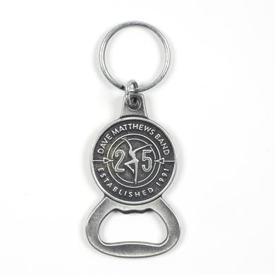 DMB 25th Anniversary Bottle Opener Keychain
