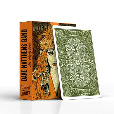 DMB 2016 Tour Poster Playing Cards