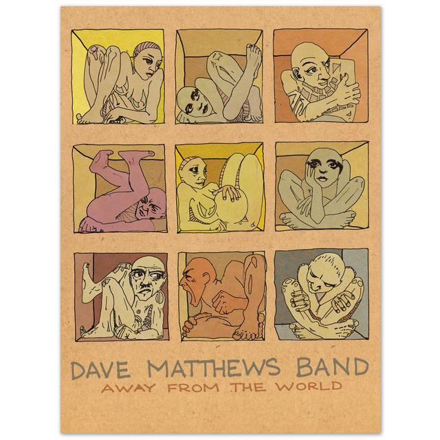 """DMB 'Away From The World' Limited Edition 18"""" x 24"""" Lithograph"""