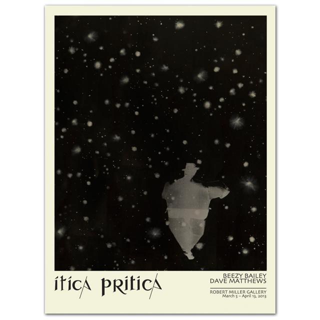 Dave Matthews Band Itica Pritica Lithograph