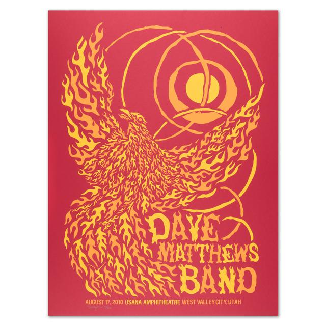 Dave Matthews Band - West Valley 8/17/10 Show Poster