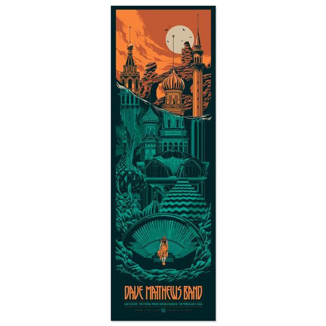 DMB Woodlands, TX 5/16/15 Show Poster