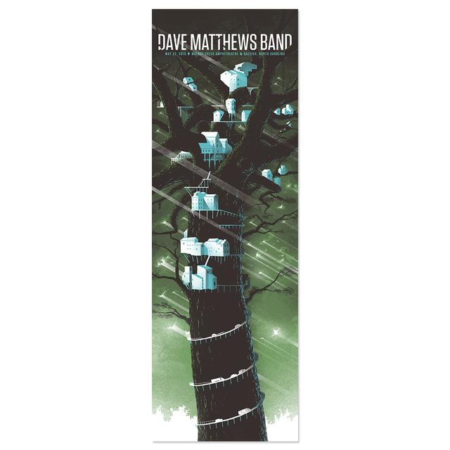 DMB Show Poster – Raleigh, North Carolina 5/22/2015