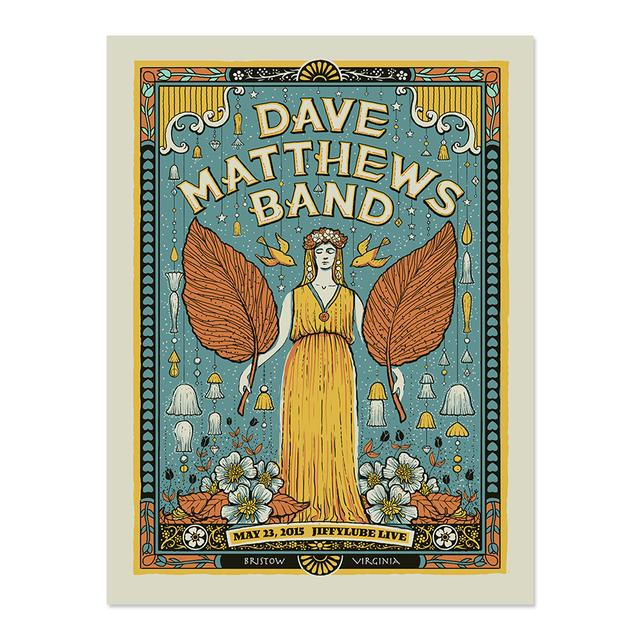DMB Show Poster – Bristow, Virginia 5/23/2015