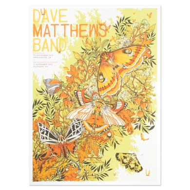 DMB Show Poster - Manchester 11/10/2015 & Glasgow 11/11/2015