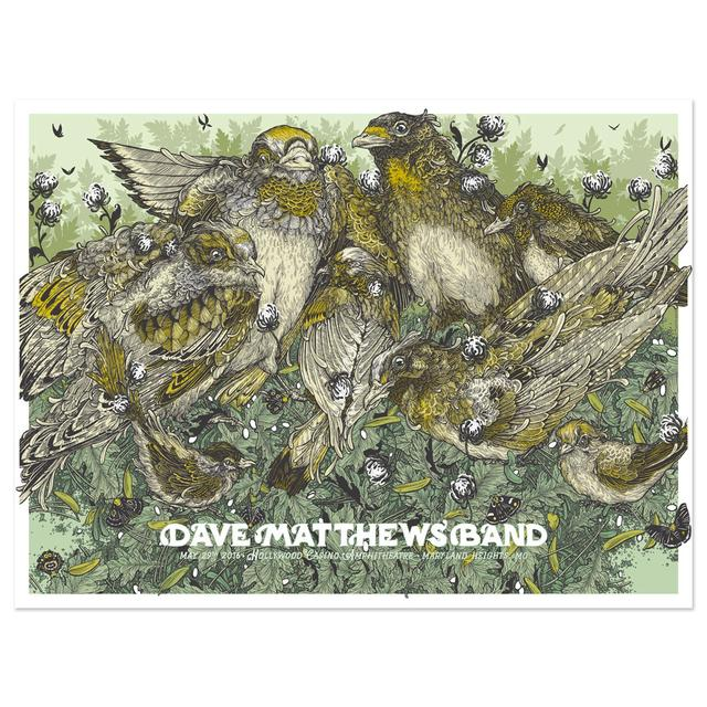 DMB Show Poster – Maryland Heights, MO 5/29/2016