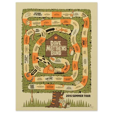 Dave Matthews 2016 Tour Poster