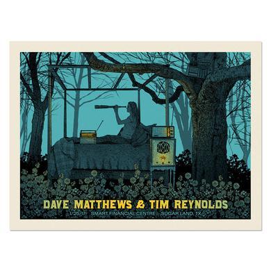 Dave Matthews Dave & Tim Show Poster– Sugar Land, TX 1/25/17