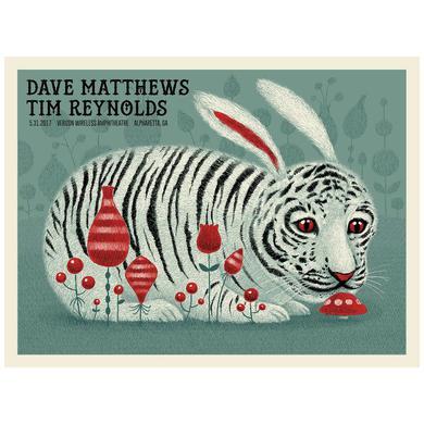 Dave Matthews Band Dave & Tim Show Poster - Alpharetta, GA  5/31/2017
