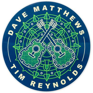 Dave Matthews Band Dave and Tim 2017 Tour Sticker