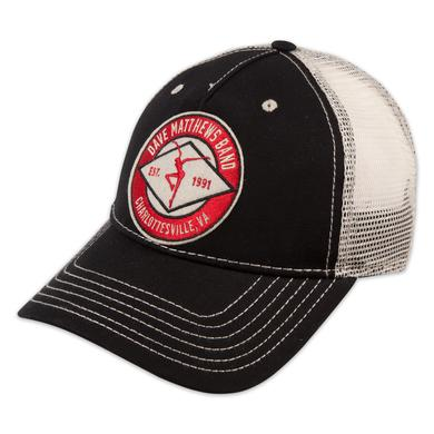 DMB Black Trucker Hat