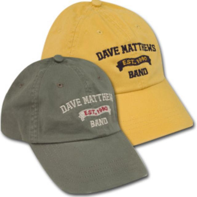 DMB Established 1990 Banner Hat