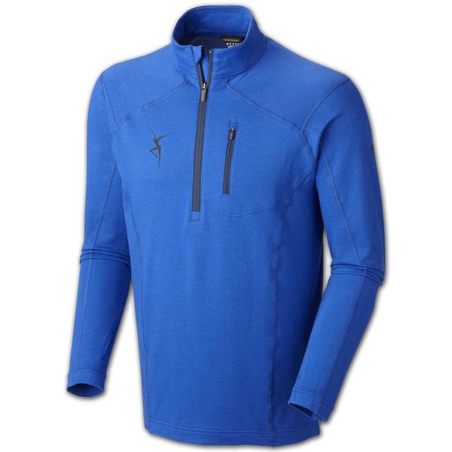DMB Mountain Hardwear Men's Cragger Long-Sleeve Zip Shirt