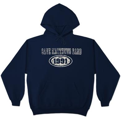DMB Blue Hooded Sweatshirt