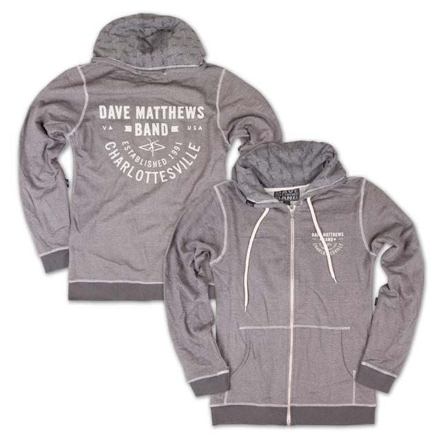 DMB Full-Zip Custom Hooded Sweatshirt
