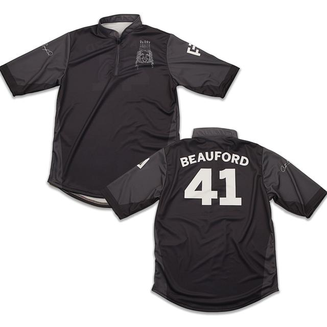 Dave Matthews Custom Carter Beauford Jersey Black/Grey