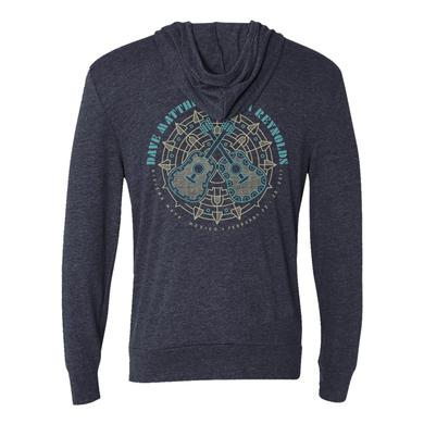 Dave Matthews Band Dave and Tim Guitar Mandala Zip Hoodie