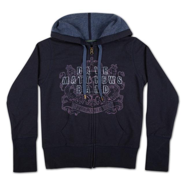 DMB Ladies Crest Logo Recycled Cotton Hoodie