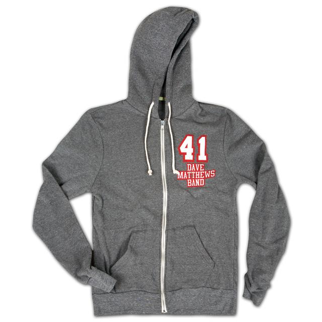 DMB #41 Heather Grey Hoodie
