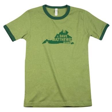 DMB Green Virginia Shirt