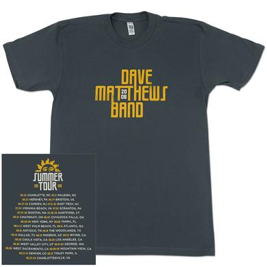 DMB 2006 Summer Tour Date Shirt