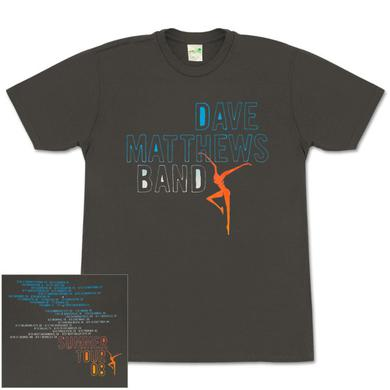 DMB 2008 Summer Tour Date Organic Cotton Shirt