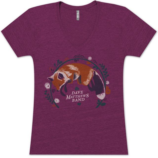 DMB Ladies Fox V-Neck Shirt