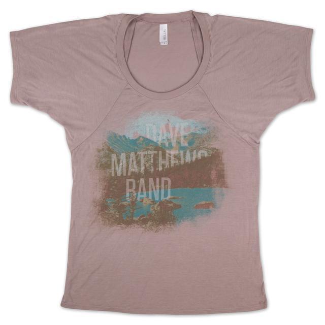 DMB 2013 Ladies Landscape Drape Shirt