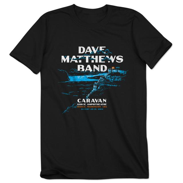 Dave Matthews Band 2014 Caravan Event T-shirt