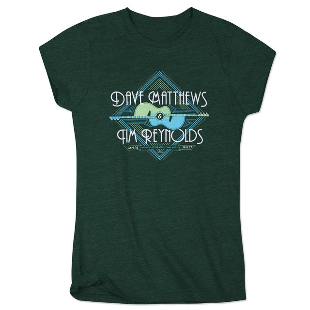 Dave Matthews Dave & Tim Ladies Oakland Event Tee