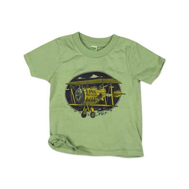 DMB Toddler Plane Tee on Avocado
