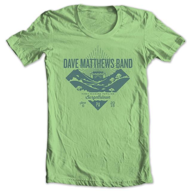 DMB Event T-shirt - Burgettstown, PA 6/6/2015