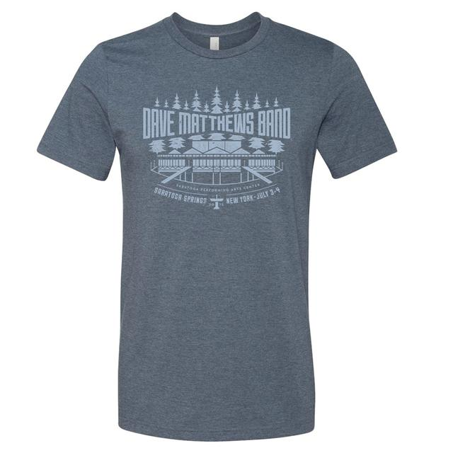 DMB Event T-shirt - Saratoga Springs, NY 7/4/2015