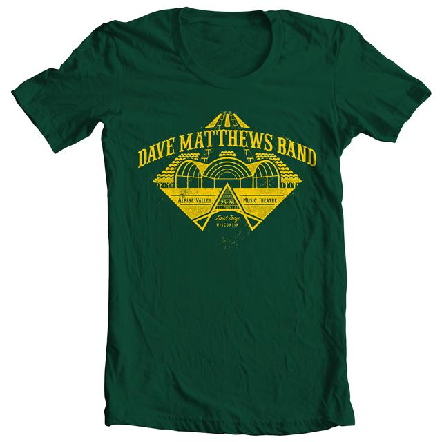 DMB Event T-shirt - Alpine Valley 7/25-26/2015