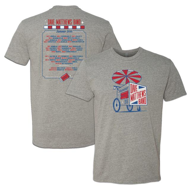 Dave Matthews Band 2016 Summer Tour T-shirt