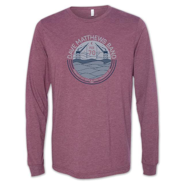 Dave Matthews Band San Francisco Men's Event Long Sleeve T-Shirt