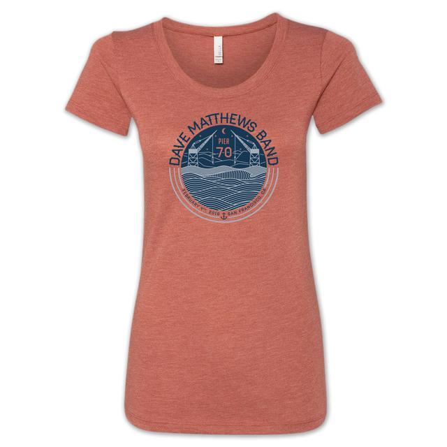 Dave Matthews Band San Francisco Women's Event T-Shirt