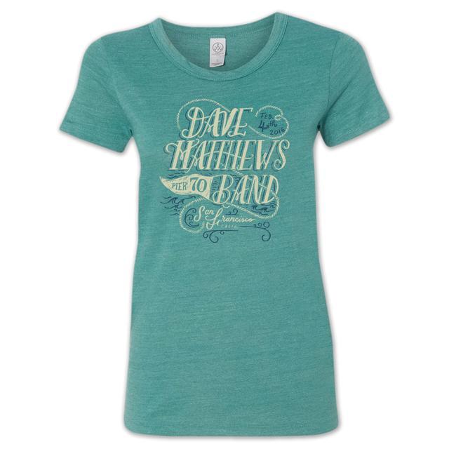 Dave Matthews Band San Francisco Women's Scripty T-Shirt