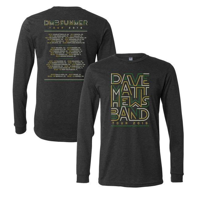 Dave Matthews 2016 Tour Long Sleeve T-Shirt