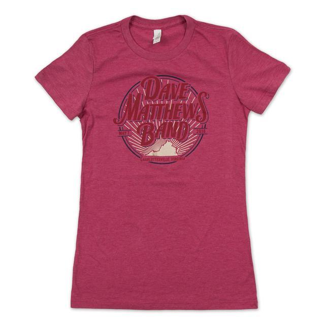 Dave Matthews Ladies' charlottesville Event Tee